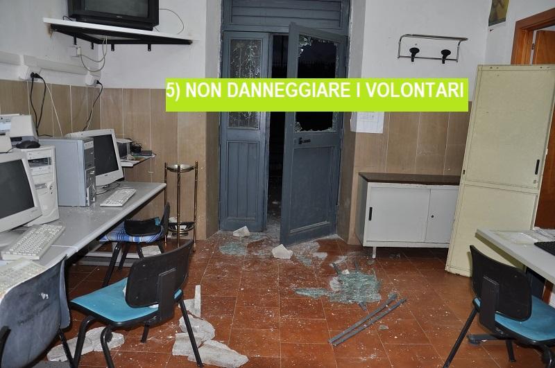 5-non-danneggiare-i-volontari